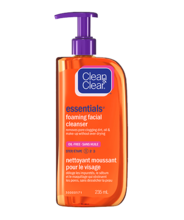 CLEAN & CLEAR ESSENTIALS® Foaming Facial Cleanser